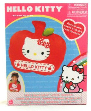 Hello Kitty Make & Sew a Apple Cushion